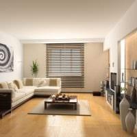 светлый дизайн дома в стиле модерн картинка