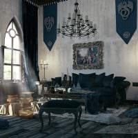 современный фасад спальни в готическом стиле картинка