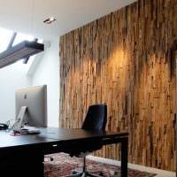 яркий интерьер квартиры со стеновыми панелями фото