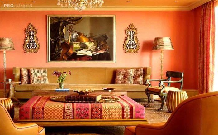 современный дизайн квартиры в восточном стиле