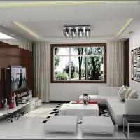 светлый стиль спальни гостиной фото