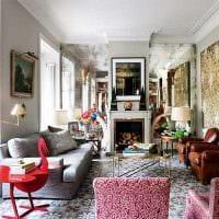яркий дизайн спальни в весеннем стиле картинка