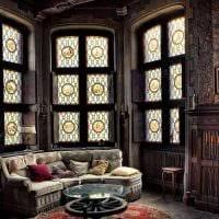 необычный фасад квартиры в готическом стиле картинка