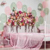 светлый декор комнаты в весеннем стиле картинка