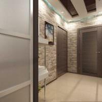 необычный декор гостиной со стеновыми панелями фото