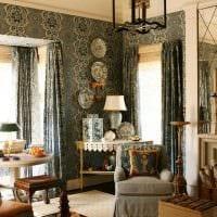 красивый интерьер гостиной в стиле ампир фото