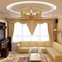 яркий декор спальни в стиле ампир картинка