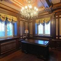 темный стиль дома в викторианском стиле картинка