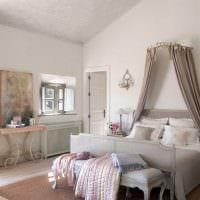 красивый декор комнаты в весеннем стиле картинка