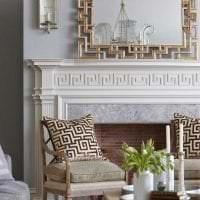 красивый дизайн комнаты в греческом стиле картинка