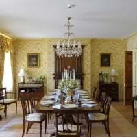 светлый интерьер комнаты в викторианском стиле картинка