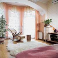 красивый декор спальни гостиной картинка