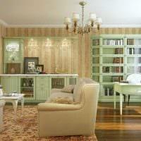 яркий стиль квартиры в стиле прованс фото