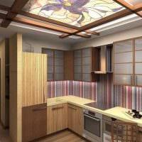 современный интерьер квартиры в восточном стиле фото