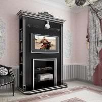 темный декор спальни в викторианском стиле фото