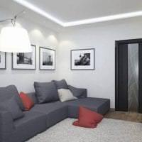 межкомнатные двери в дизайне квартиры картинка