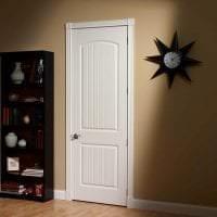 светлые двери в интерьере комнаты картинка