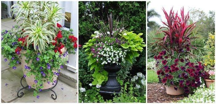 красивое украшение садового участка подручными материалами