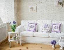 оригинальное оформление дизайна комнаты в стиле прованс картинка