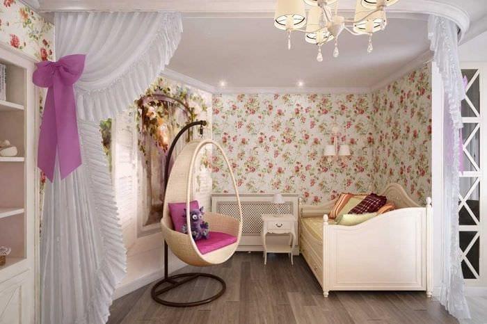 необычное декорирование интерьера квартиры в стиле прованс