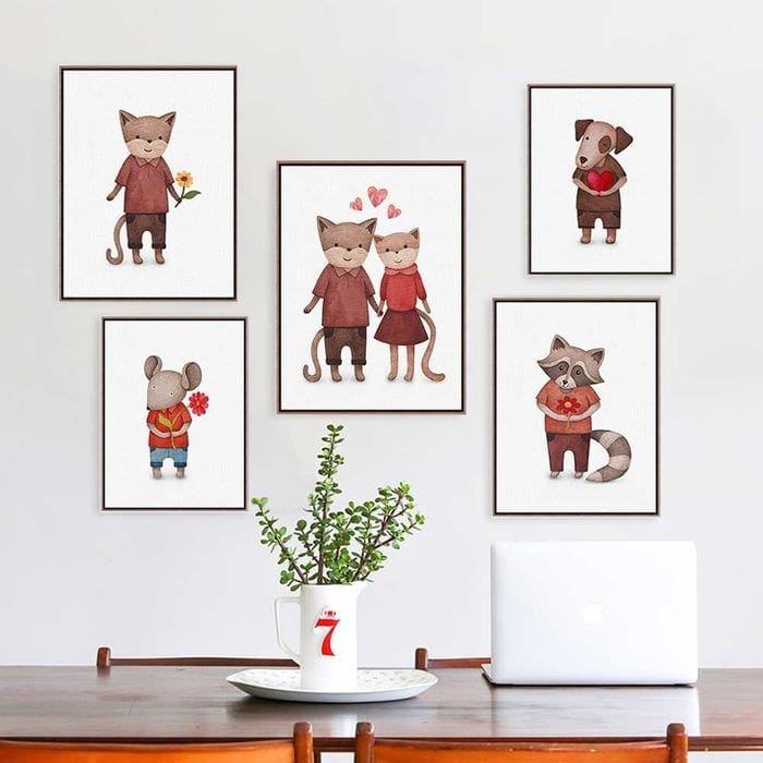 необычное украшение комнаты своими руками на день святого валентина