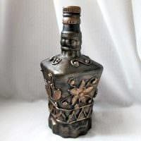 необычное оформление бутылок для стиля комнаты картинка