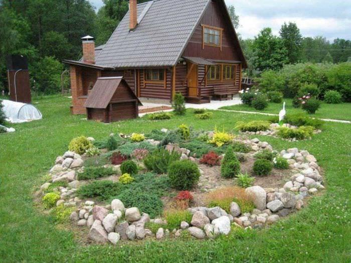 дачадекор: как сделать ландшафтный дизайн дачного участка своими руками