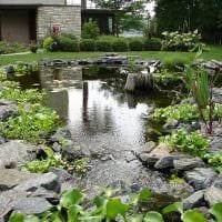 красивое создание дизайна загородного дома подделками картинка