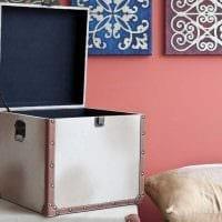 красивое декорирование коробок подручными материалами фото