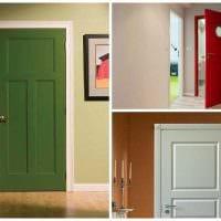 необычное декорирование дверей подручными материалами фото