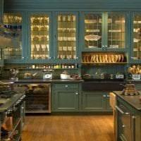 светлый дизайн гостиной в викторианском стиле картинка