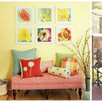 красивый декор квартиры в весеннем стиле картинка