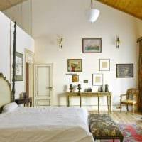 красивый декор спальни в средиземноморском стиле картинка