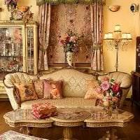 необычный стиль комнаты в викторианском стиле картинка