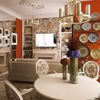светлый интерьер комнаты в средиземноморском стиле картинка