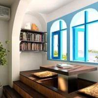 красивый интерьер квартиры в средиземноморском стиле фото