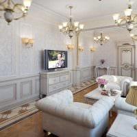 яркий декор спальни со стеновыми панелями фото