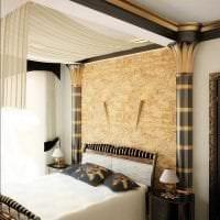необычный дизайн комнаты в греческом стиле картинка