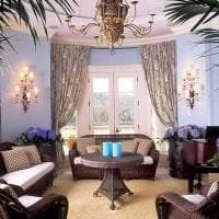 красивый интерьер гостиной в викторианском стиле фото