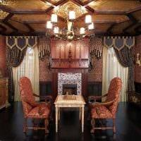 необычный фасад комнаты в готическом стиле картинка