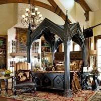 современный дизайн квартиры в готическом стиле картинка
