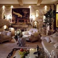 яркий стиль спальни в готическом стиле фото