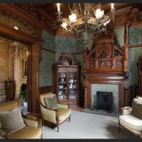 современный стиль квартиры в готическом стиле картинка