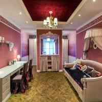 современный интерьер спальни в винтажном стиле картинка
