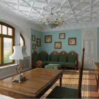 современный фасад квартиры в готическом стиле картинка