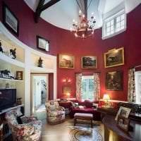 светлый интерьер квартиры в викторианском стиле фото