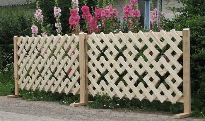 Забор загородного дома своими руками фото