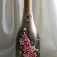 оригинальное украшение бутылок для интерьера комнаты картинка