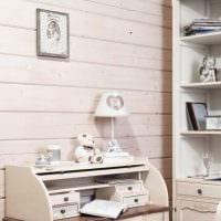 красивое украшение дизайна комнаты в стиле прованс фото