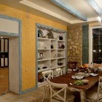 яркое декорирование дизайна комнаты в стиле прованс фото